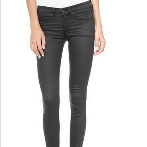 Shoreditch - Coated Grey W15031585 Skinny Jeans